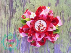 Strawberry Shortcake  Vintage 80's inspired by ElliesHappinessBows