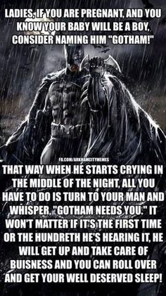 Ladies if you are pregnant - batman meme - http://jokideo.com/