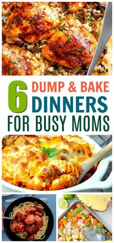 easy dinner recipes for family busy mom ~ easy dinner recipes for family . easy dinner recipes for family with kids . Crock Pot Recipes, Baked Dinner Recipes, Family Meal Planning, Family Meals, Family Kids, Dump Meals, Easy Meals, Healthy Dinners, Baking Recipes