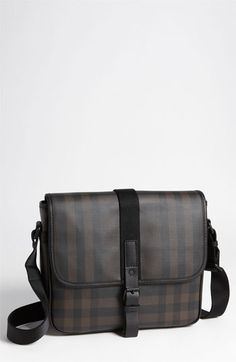 Burberry Check Print Messenger Bag....... One day... (Available at #Nordstrom)