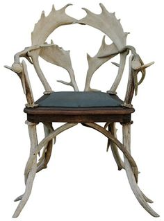 European Antler Chair (4 Available Sold Separate) | VandM.com ($500-5000) - Svpply