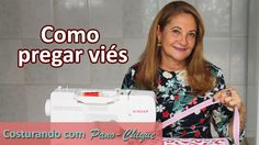 COMO COLOCAR VIÉS com canto mitrado - PASSO A PASSO Sewing Patterns, Singer, Quilts, Videos, Youtube, Stitching, Sewing Ideas, Bias Tape, Sewing Headbands