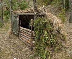 LOOK3 #bushcraftshelter