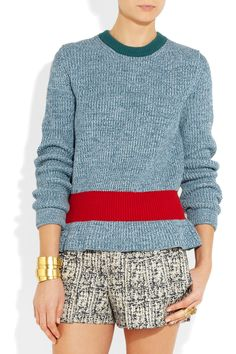 Chloé Cashmere and wool-blend sweater NET-A-PORTER.COM