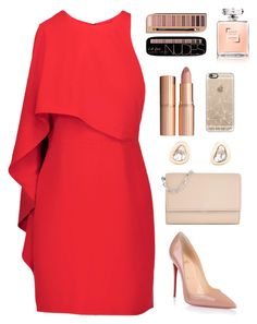 tte Tilbury, Christian Louboutin, Michael Kors, Dezso by Sara Beltrán and Casetify Fashion Beauty, Girl Fashion, Fashion Dresses, Womens Fashion, Dressy Outfits, Chic Outfits, Polyvore Outfits, Elegantes Outfit, Looks Chic