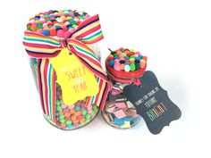 Teacher Bright Jar Gifts - Personalise and order online at www.macaroon.co.za