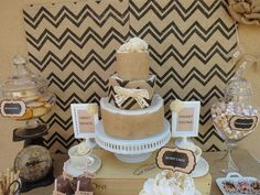 Hostess with the Mostess® - Burlap & Lace Baby Shower