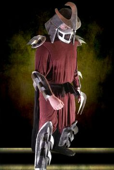 1990 Shredder Costume Tutorial
