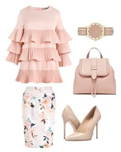 """Untitled #81"" by enaleille on Polyvore featuring New Look, Massimo Matteo and Kate Spade"