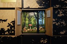 MUSEUM.BL / Permanent exhibition: Wildes Baselbiet / design & scenography by www.elementdesign.ch