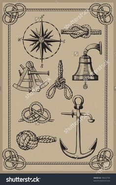 stock-vector-nautical-elements-on-vintage-background-drawing-woodcut-method-78652750.jpg 999×1600 пикс
