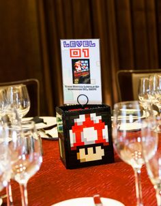 Retro gaming wedding