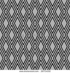 stock-vector-black-lace-with-geometric-seamless-pattern-on-net-background-267714152.jpg (450×470)