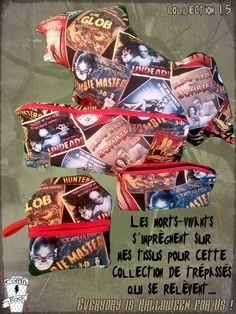 la collection complète dans la section Everyday is Halloween for Us sur le site de Coffin Rock   http://www.coffinrock.com/coffinrock/fr/31-every-day-is-halloween-for-us-iv