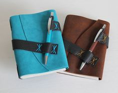Your marketplace to buy and sell handmade items. - Hand-bound diary, notebook, travel diary made of suede and recycled paper + with ballpoint pen - Selling Handmade Items, Handmade Books, Diary Notebook, Diary Planner, Handmade Notebook, Notebook Covers, Leather Projects, Book Making, Leather Working