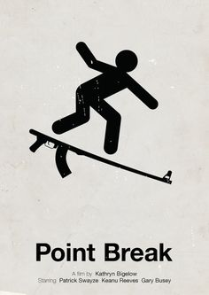 Movie Poster  Cinema Poster Design Point Break