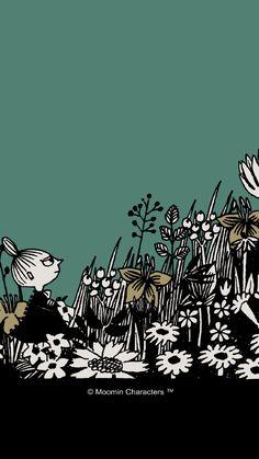 Little My Moomin, Cartoon Photo, Tove Jansson, Love Illustration, Backrounds, Troll, Art Inspo, Iphone Wallpaper, Cool Designs