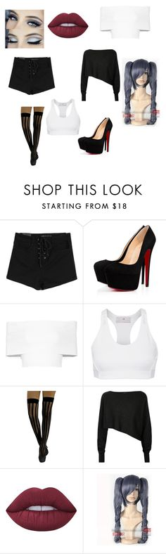 """Untitled #513"" by your-smiley-potato ❤ liked on Polyvore featuring beauty, Rosetta Getty, adidas, Crea Concept, Lime Crime and Coshome"