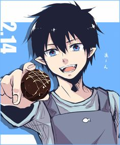 Rin okumura. THE best cook of the whole campus.