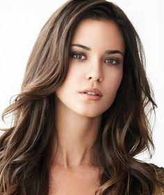 Odette Annable Beautiful Brunette Portrait