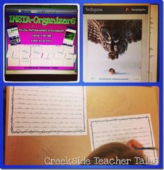 Insta-Organizers  How to use Instagram in the classroom to work on writing and reading strategies!