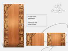 Handmade wooden door_ code: Belgrade / by Georgiadis furnitures #handmade #wooden #door #marqueterie
