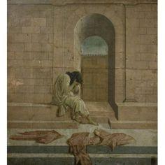 The Melancholy Sandro Botticelli (1444-1510Italian) Private Collection Canvas Art - Sandro Botticelli (24 x 36)
