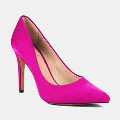 Bright Colored Pumps - Vince Camuto Kain Pump in Deep Magenta