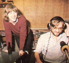 Bart van Leeuwen en Lex Harding - Radio Veronica Radios, Great Bands, Veronica, The Beatles, Pirates, Netherlands, Dj, The Past, Memories