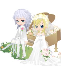 Kingdom Hearts Namine, Black Butler Characters, Hair Reference, Best Couple, Chibi, Fanart, Hairstyle, Game, Couples