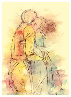 Avatar; Aang and Katara Love.