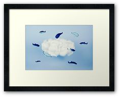 Whales around the cloud by josemanuelerre