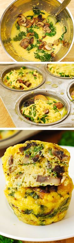 Extra Off Coupon So Cheap Breakfast Egg Muffins with Mushrooms and Spinach these crustless mini quiches are perfect for breakfast brunch or potluck! Packed with protein fiber and veggies. paleo lunch for work Breakfast Desayunos, Breakfast Dishes, Breakfast Recipes, Breakfast Ideas, Vegetarian Breakfast, Savoury Breakfast Muffins, Healthy Egg Muffins, Gluten Free Savoury Muffins, Spinach Egg Muffins