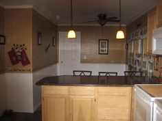 You might rethink your countertops after seeing her budget DIY update