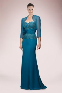 Elegant Mother of the Bride Dress with Intricate Lace