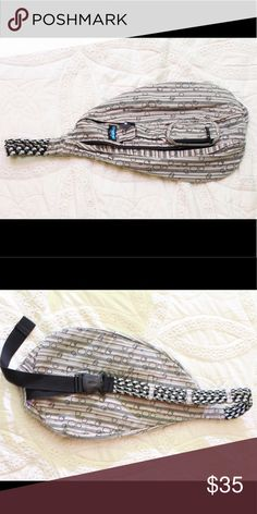 Kavu Rope Sling Backpack Bag Purse Stripes Dots In excellent used condition. Stripes and bubble dots print! Kavu Bags Backpacks