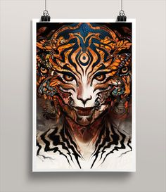 Android Jones - Tigre Limited Edition