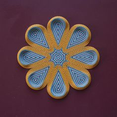 More geometric flowers have bloomed around here! Detail pictures in insta-stories! .  .  .  #art #paperArt #3D #paperArtist #paperFlowers #geometry #dstexture #paperCurling #whptexture #gunjanAylawadi #sydneyArtist #firdaus #marigold #flower #wip #geometry #whpgeometric