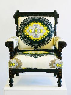 Antique Eastlake Armchair