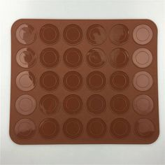 Silicone Macaroon mat mold