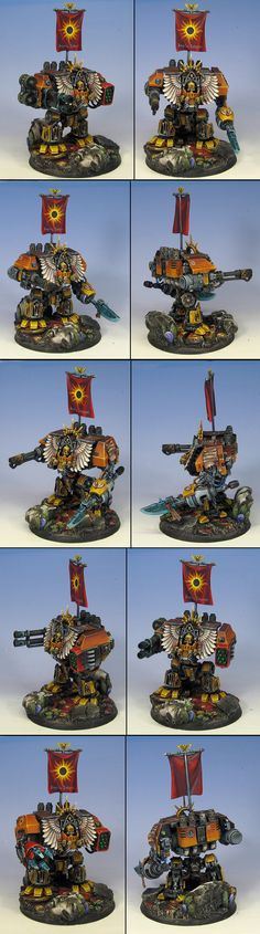 Fairly well painted dreadnought