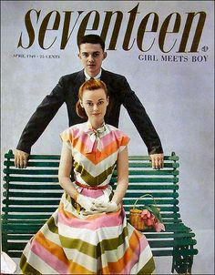 Seventeen magazine 1949 April by AngoraSox, via Flickr