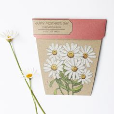 What a pretty seed package - makes a sweet gift or even a gift tag
