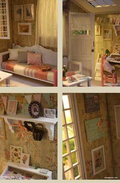 This is a dollhouse. A DOLLHOUSE! So amazing!