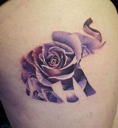 12 Gorgeous Flower Tattoo Designs: #10. Unique Rose Tattoo Design; #tattoos #AwesomeTattoos