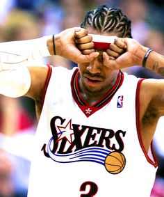 Allen Iverson is one of the most exciting players to watch in the NBA.