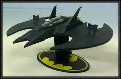 Batman - Batwing Free Papercraft Download - http://www.papercraftsquare.com/batman-batwing-free-papercraft-download.html