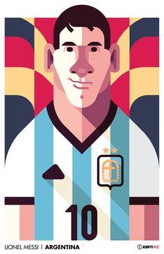 Lionel Messi   Argentina for ESPN