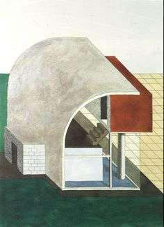 What You Need to Know about Memphis Design Pioneer Ettore Sottsass Architecture Drawings, Architecture Portfolio, Architecture Design, Architecture Models, Sketch Design, Icon Design, Vintage Furniture Design, 1980s Design, Memphis Design