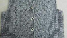Pirinç Örnekli Kalp Süslemeli Kolay Çocuk Jile Yapımı. 1 .2 yaş – Örgü resimli anlatımlı örgü sitesi Sweaters, Fashion, Tricot Baby, Amigurumi, Knitting Needles, Baby Knitting, Threading, Moda, Fashion Styles